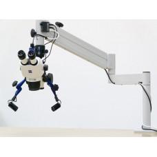 Стерео микроскоп Stemi 305 Flexi с напольной стойке, Axiocam 105 и LED-Spot Двойной