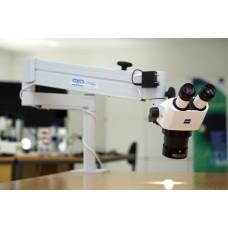Стерео микроскоп Stemi 305 с настольным штативом и Stemi-Spot освещения Перпендикулярно