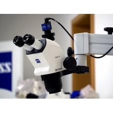 Стерео микроскоп Stemi 508 doc Flexi с настольным штативом, перпендикулярно освещения и камеры