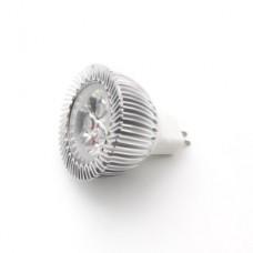 Лампа 12V 3W LED рефлектор GU5,3 - дневной свет 6000K