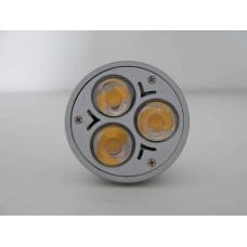 Лампа 12V 3W LED рефлектор GU5,3 теплый свет 3000K