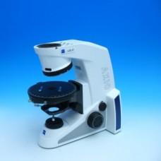 Axio Lab.A1 штатив Микроскопа Хэл 35, 4x Дизель, поворотный стол 360 градусов Полюс